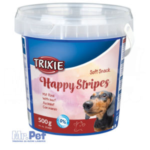 TRIXIE poslastice za pse Soft Snack Happy Stripes