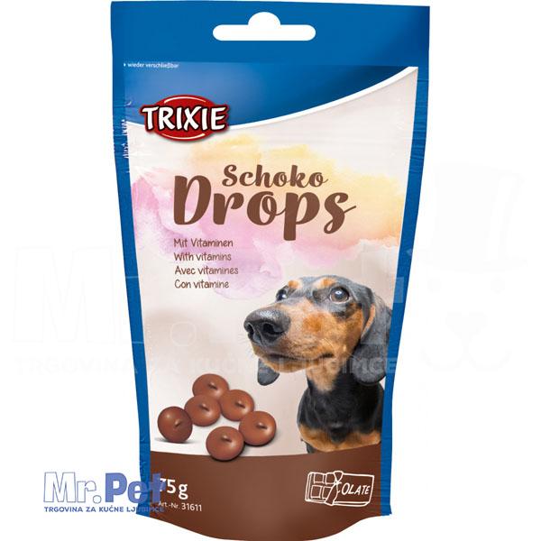 TRIXIE poslastice za pse Chocolate DROPS