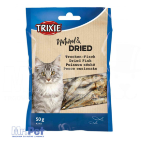 TRIXIE žvakalice za mačke SUŠENE RIBICE Dried Fish