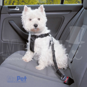 TRIXIE najlon povodac + am za pse za automobil