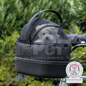 TRIXIE Front Bicycle Basket torba za prevoz ljubimca na biciklu