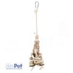 TRIXIE Natural Toy with Mahogany Pod igračka za pse, 30 cm