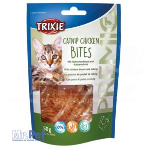 TRIXIE PREMIO Catnip Chicken Bites poslastica za mace sa ukusom piletine