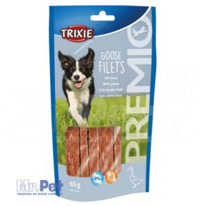 TRIXIE PREMIO Goose Filets poslastica za pse guščji fileti, 65 g
