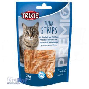 TRIXIE PREMIO Tuna Strips poslastica za mace sa ukusom tune