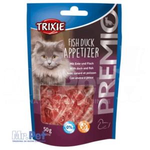 TRIXIE PREMIO Fish Duck Appetizer poslastica za mace sa ukusom pačetine i ribe