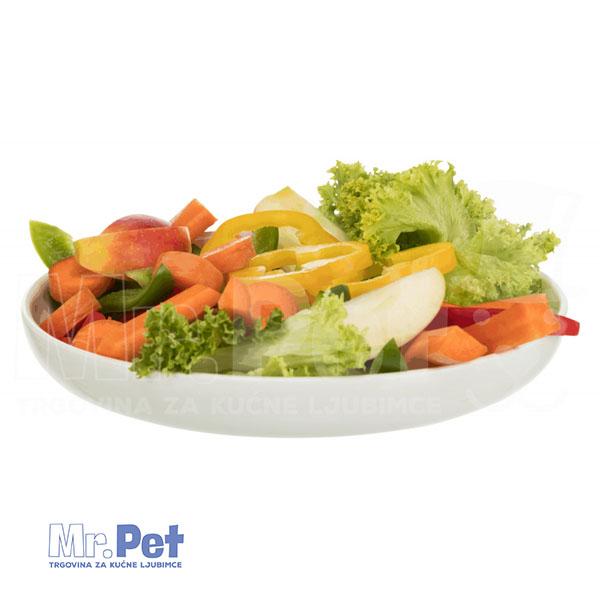 TRIXIE Vegetable Bowl, Ceramic keramička posuda, 600ml/23 cm