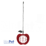 TRIXIE Fat Ball Feeder Apple metalna hranilica za ptice, 12 x 35  cm
