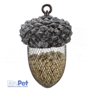 TRIXIE Feed Dispenser Acorn ŽIR HRANILICA za ptice, 700ml/14 x 22 cm