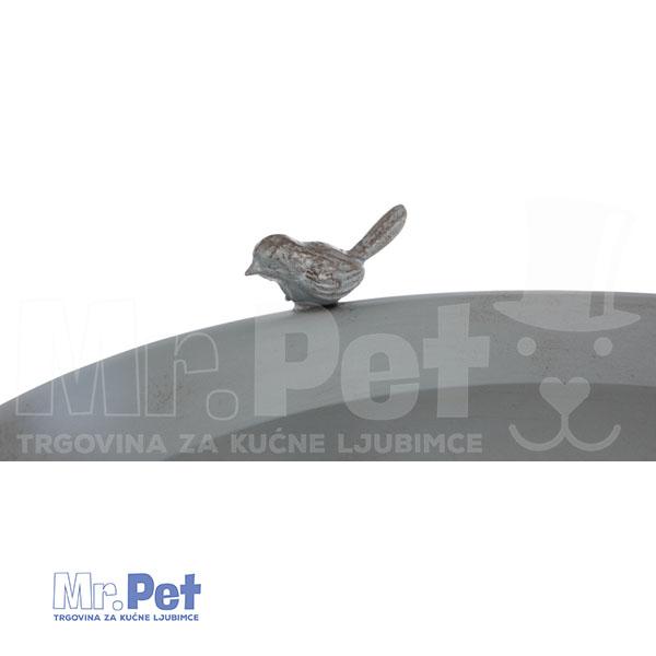 TRIXIE Water Bowl Water Bowl METALNA POJILICA, 1800ml/35 x 107 cm