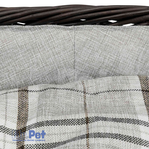 TRIXIE pletena ležaljka za pse sa jastukom