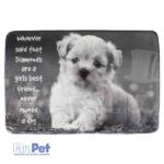 TRIXIE Baily Lying Mat ležaljka za pse BAILY 60 x 40 cm, siva
