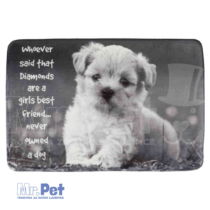 TRIXIE Baily Lying Mat ležaljka za pse 60 x 40 cm, siva