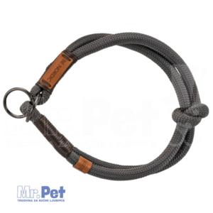 TRIXIE BE NORDIC Stop-the-pull Collar ogrlica za pse tamno siva/braon