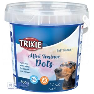 TRIXIE Soft Snack Mini Trainer Dots poslastice za pse sa ukusom lososa, 500 g