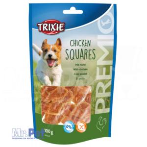 TRIXIE PREMIO Chicken Squares poslastica za pse piletina 100 g