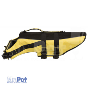 TRIXIE Life Vest for Dogs PRSLUK ZA VODU XL 60-96 cm žuto/crni