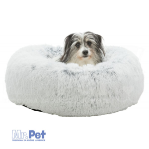 TRIXIE Harvey Bed krevet ležaljka za pse, crno-bela ø 60 cm