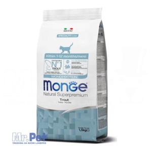 Monge hrana za mačiće Natural Monoprotein Kitten, pastrmka