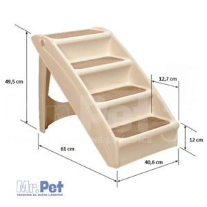 CROCI Pupsteps Plus Pet Stairs rampa stepenice za ljubimce