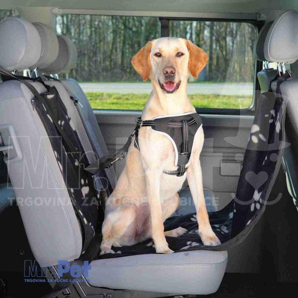 TRIXIE Protective Car Seat Cover with Side Parts prekrivač sedišta automobila sa stranicama