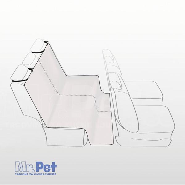 TRIXIE zaštita i prekrivač za sedište automobila