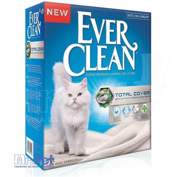 EVER CLEAN posip za mačji toalet Total Cover