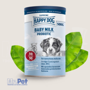 HAPPY DOG Baby Milk Probiotik – kompletan obrok za štenad