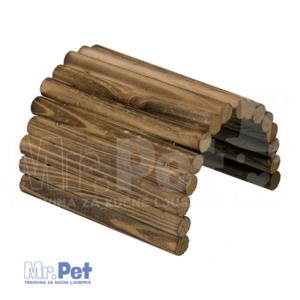 DUVO+ drveni MOST za glodare 28 x 16,5 cm
