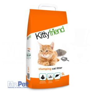 SANICAT Sanicat Kittyfriend clumping - bentonit pesak za mačji toalet