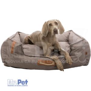 TRIXIE 100 x 80 cm, BE NORDIC Bed Föhr Soft krevet ležaljka za pse