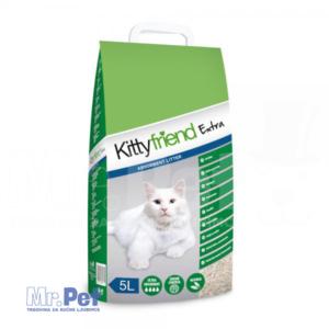 SANICAT Kitty Friend Extra- negrudvajući posip za mačji toalet, 5 l