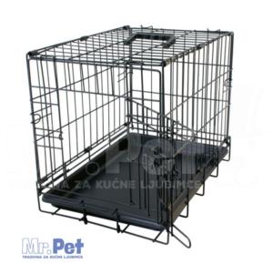 DUVO+ Pet Kennel kavez za ljubimce - 76x48x54cm - crni