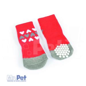 CAMON čarape za pse crvene