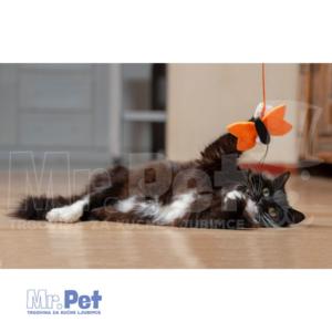 Rogz Teaser Plush Butterfly Wand, S, zabavna igračka za mačke