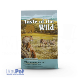 TASTE of the WILD hrana za pse Appalachian Valley male pasmine (srna i leblebije)