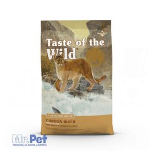TASTE of the WILD hrana za mačke Canyon River Feline (pastrmka i dimljeni losos) - 2 kg