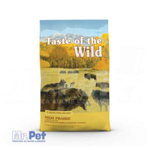 TASTE of the WILD hrana za pse High Prairie Canine (srna i bizon) - 2 kg