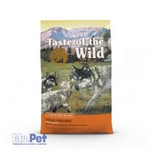 TASTE of the WILD hrana za pse High Prairie Puppy (srna i bizon) - 2 kg