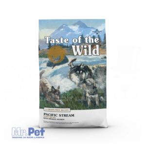 TASTE of the WILD hrana za pse Pacific Stream Puppy (dimljeni losos i riba) - 2 kg