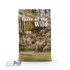 TASTE of the WILD hrana za pse Pine forest (srna i mahunarke) - 2 kg