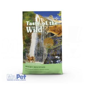 TASTE of the WILD hrana za mačke Rocky Mountaine Feline (pečena srna i dimljeni losos) - 2 kg