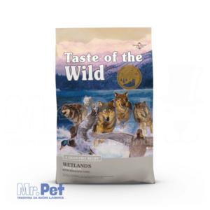 TASTE of the WILD hrana za pse Wetlands divlja perad (pečeno meso divljih ptica) - 2 kg
