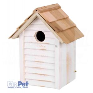 TRIXIE Nesting Box drvena kućica/gnezdilica za senice 18 × 24 × 15 cm/ø 3 cm